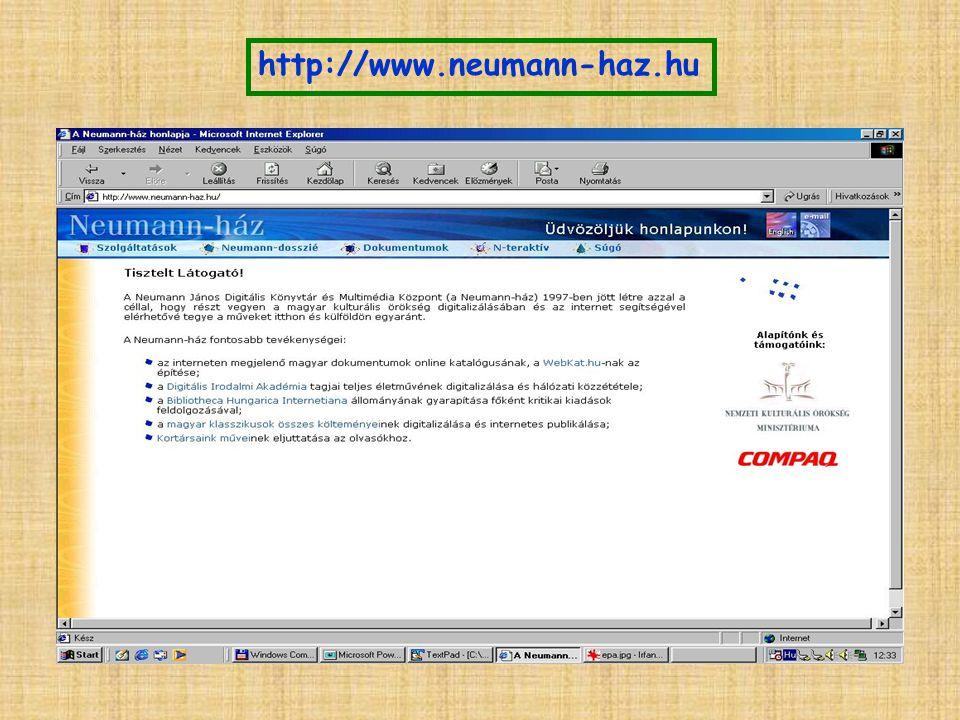 http://www.neumann-haz.hu