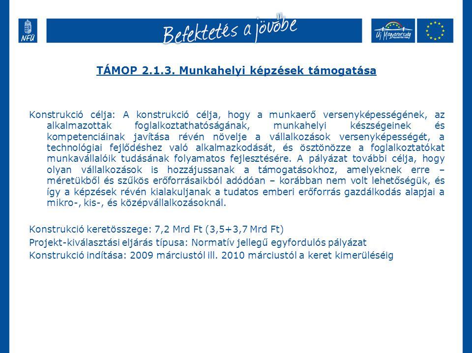 TÁMOP 2.1.3.