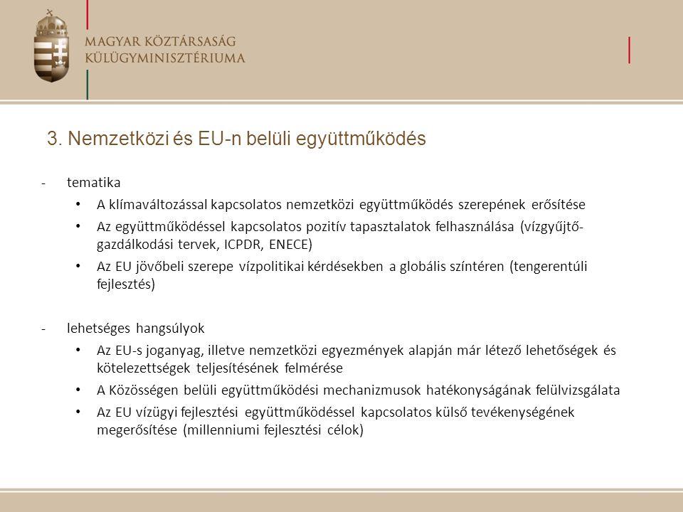 Tervezett programok a magyar EU-elnökség alatt IdőpontEsemény 2010.