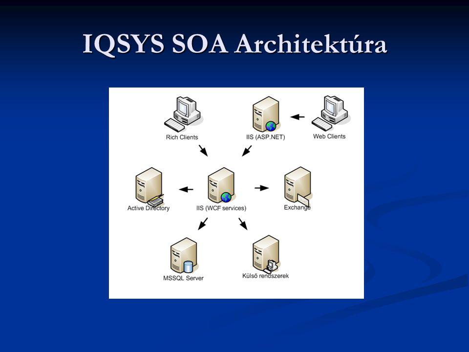 IQSYS SOA Architektúra