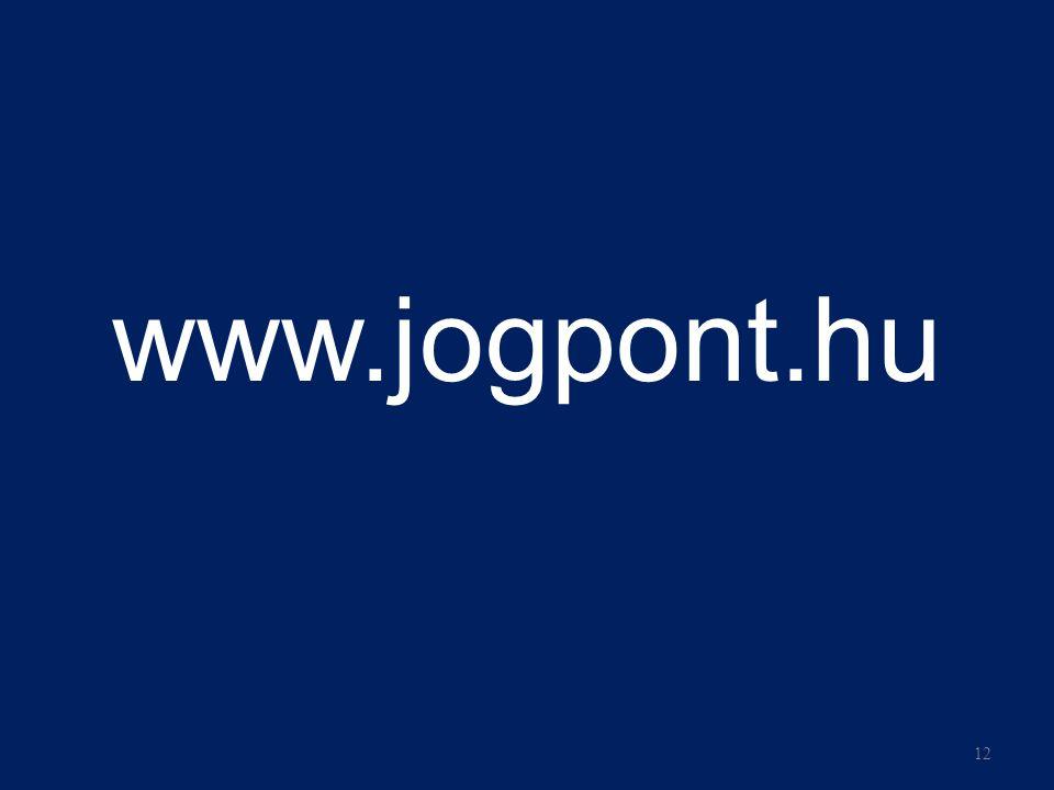 www.jogpont.hu 12