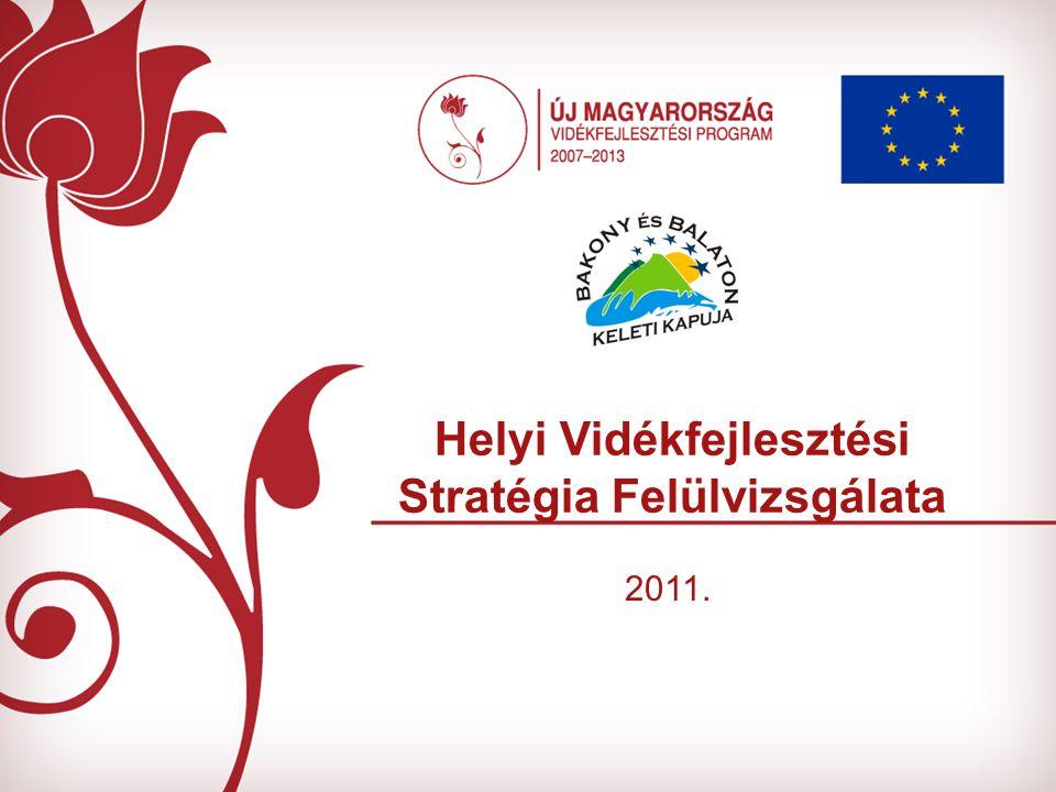 Helyi Vidékfejlesztési Stratégia Felülvizsgálata 2011.