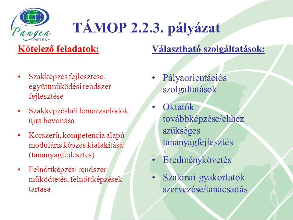 TÁMOP 2.2.3.