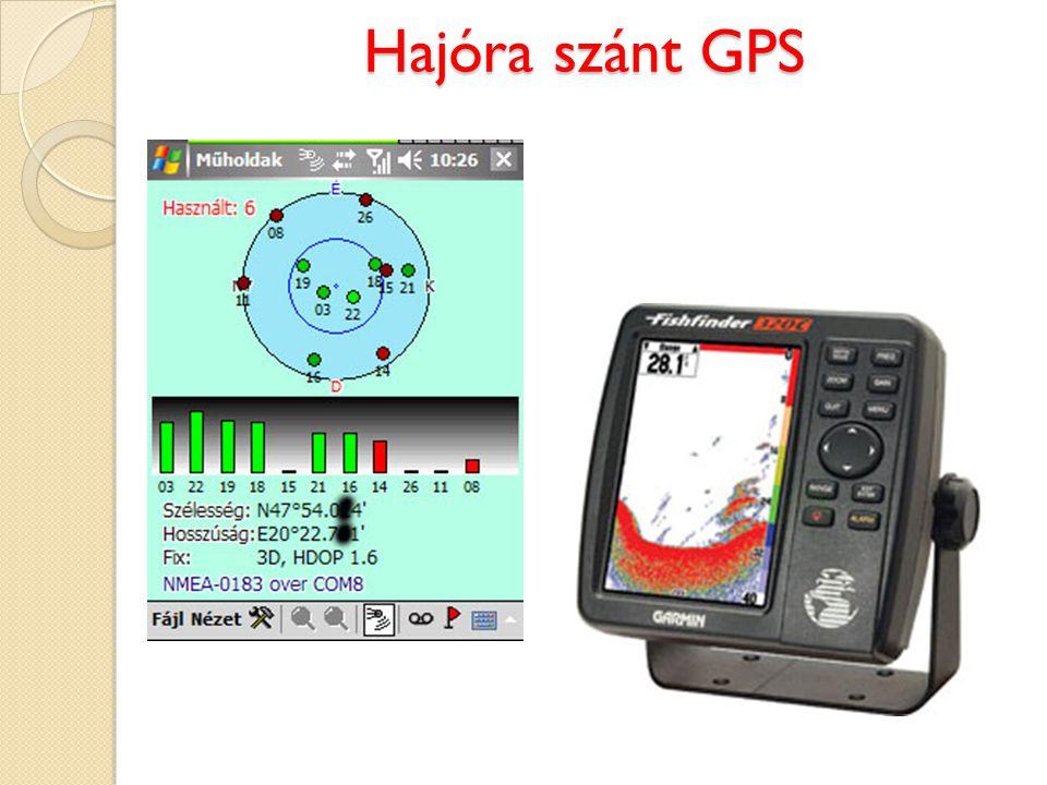 Hajóra szánt GPS