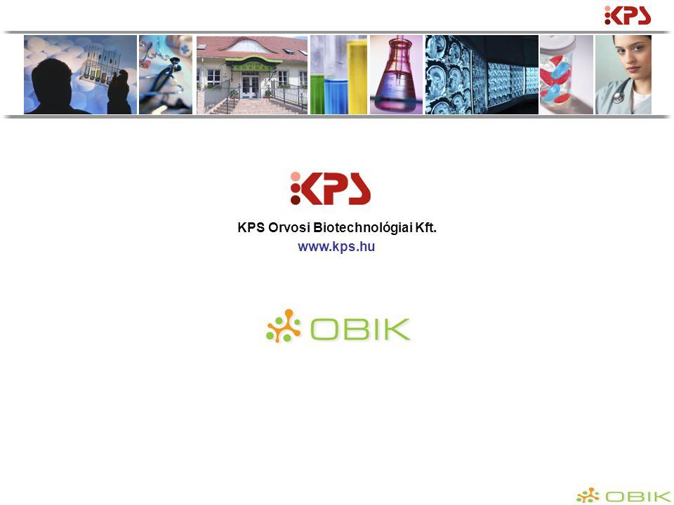 KPS Orvosi Biotechnológiai Kft. www.kps.hu