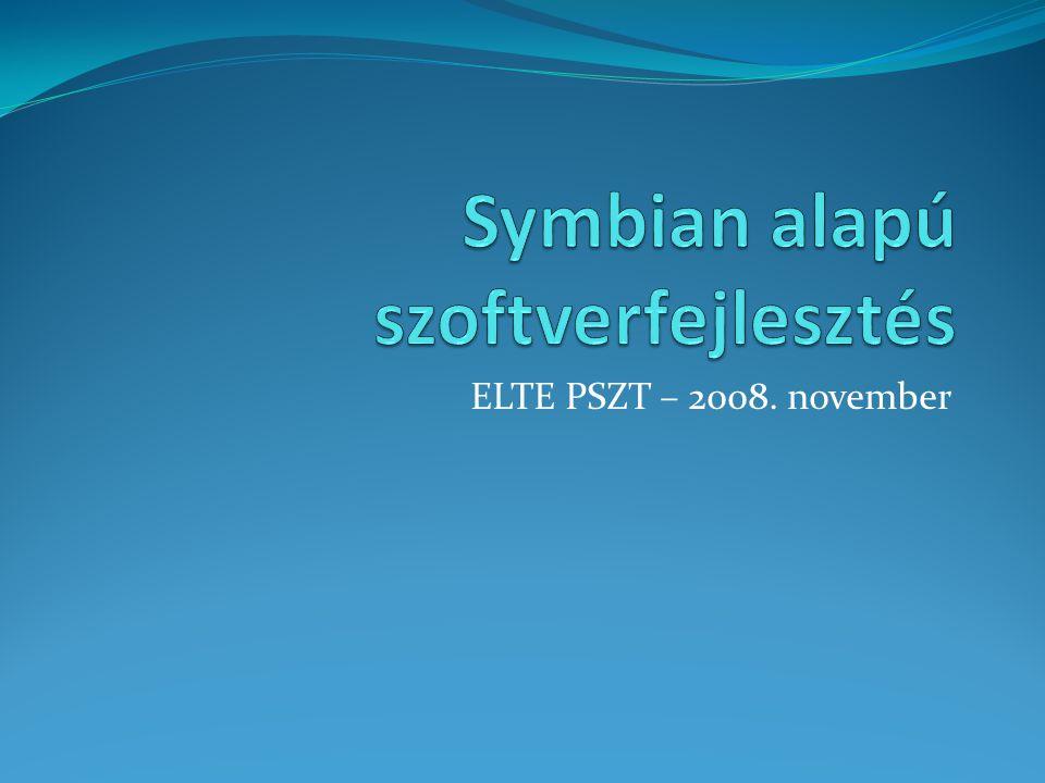 ELTE PSZT – 2008. november