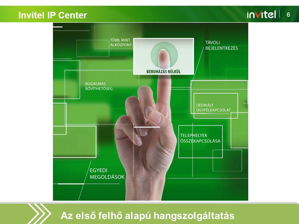 6 Invitel IP Center Az első felhő alapú hangszolgáltatás