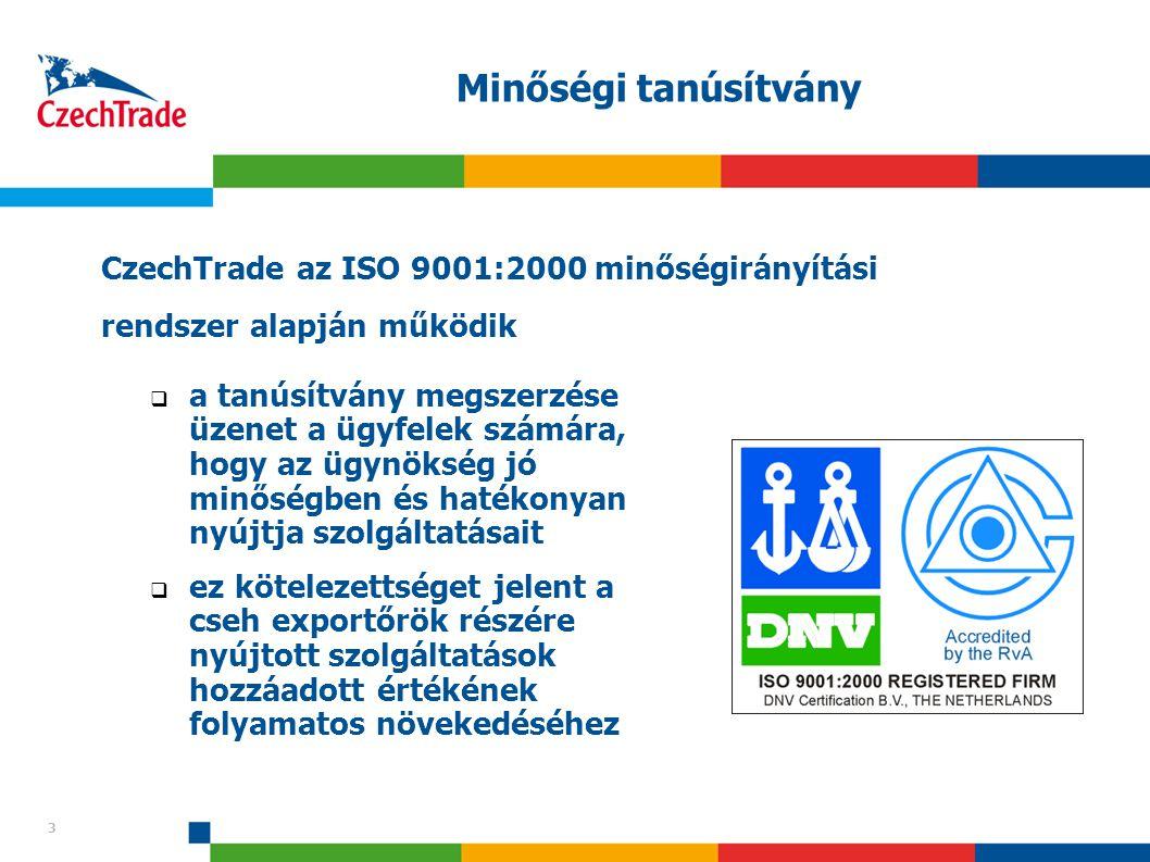3 Minőségi tanúsítvány 3  a tanúsítvány megszerzése üzenet a ügyfelek számára, hogy az ügynökség jó minőségben és hatékonyan nyújtja szolgáltatásait