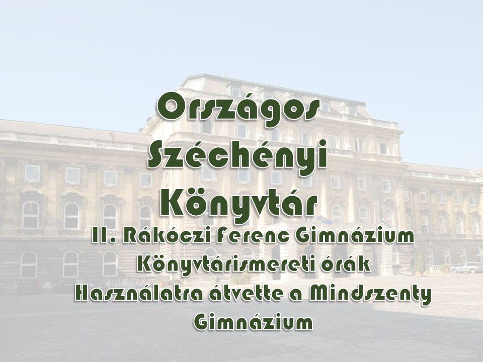 Egy-egy ország leggazdagabb könyvtári gyűjteményei a nemzeti könyvtárak.nemzeti könyvtárak A világon kb.