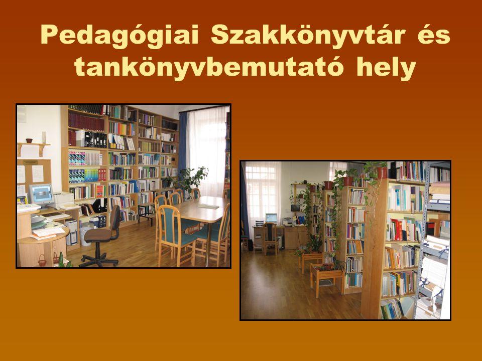 Pedagógiai Szakkönyvtár és tankönyvbemutató hely