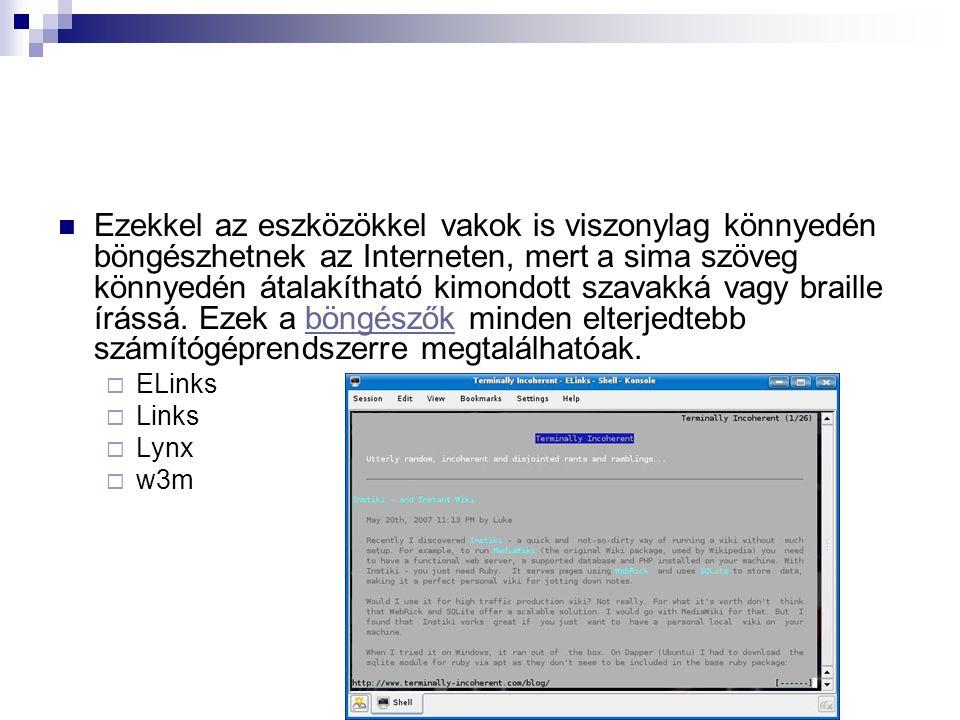 Grafikus böngészők A grafikus böngészők használatának előfeltétele egy grafikus felület, GUI vagy egy grafikus operációs rendszer.GUI Ma ilyen típusú böngészőket használnak túlnyomó részben.