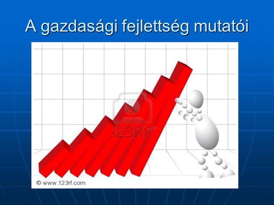 Foglalkozási szerkezet Megmutatja, milyen arányban dolgoznak az aktív keresők az egyes szektorokban.