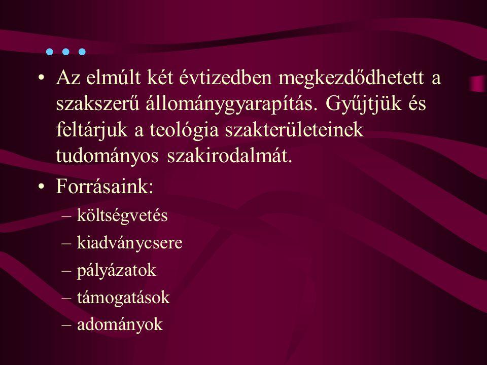 A galériás Prohászka olvasóterem