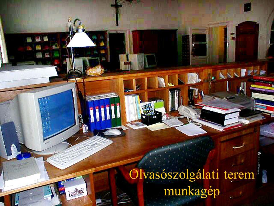 Olvasói számítógéppark