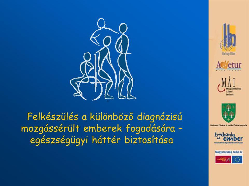 Felkészülés a különböző diagnózisú mozgássérült emberek fogadására – egészségügyi háttér biztosítása