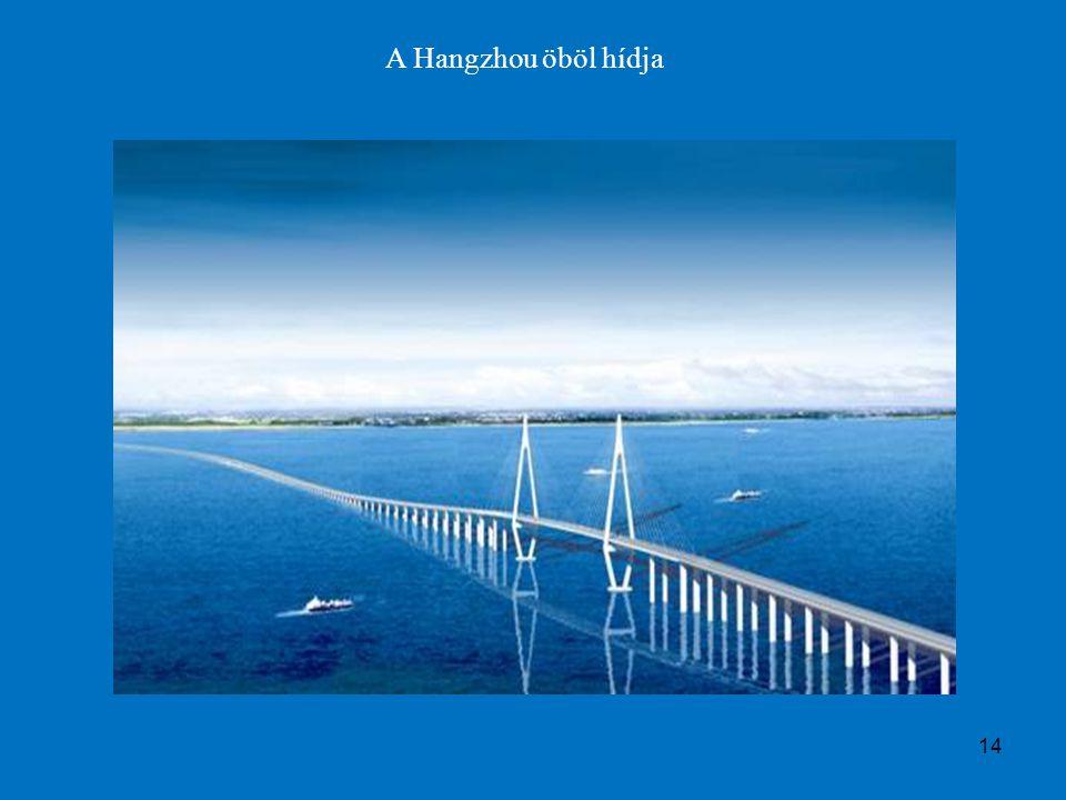 14 A Hangzhou öböl hídja