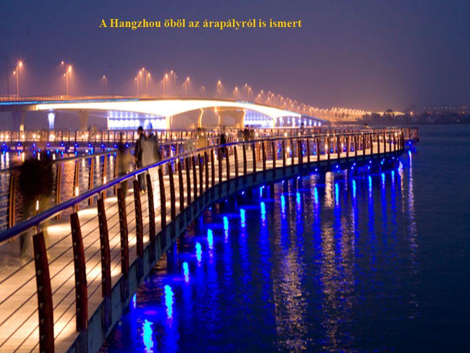 28 A Hangzhou öböl az árapályról is ismert