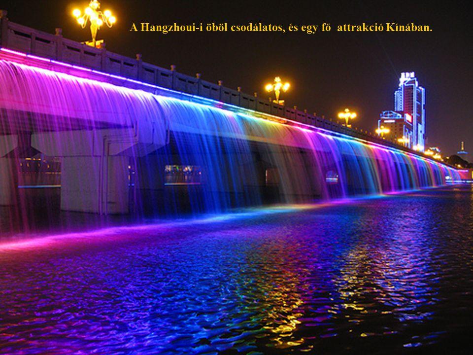 29 A Hangzhoui-i öböl csodálatos, és egy fő attrakció Kínában.