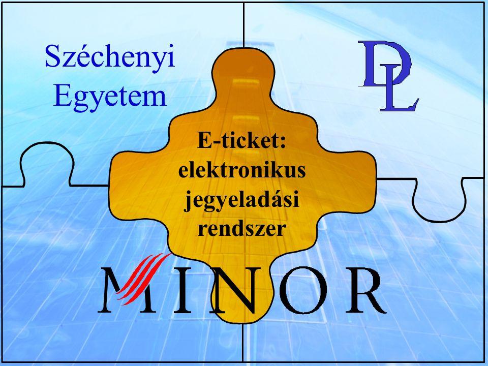 E-ticket: elektronikus jegyeladási rendszer Széchenyi Egyetem