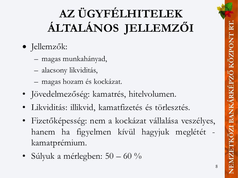 19 A S & P ÉS A MOODY'S KOCKÁZATI KATEGÓRIÁI ÉS CSŐDVALÓSZÍNŰSÉGEI