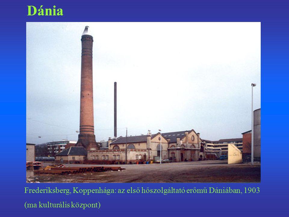 Frederiksberg, Koppenhága: az első hőszolgáltató erőmű Dániában, 1903 (ma kulturális központ) Dánia