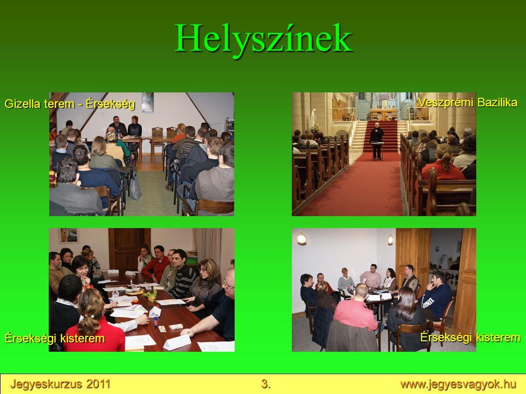 Jegyeskurzus 2011 4. www.jegyesvagyok.hu Oktatás