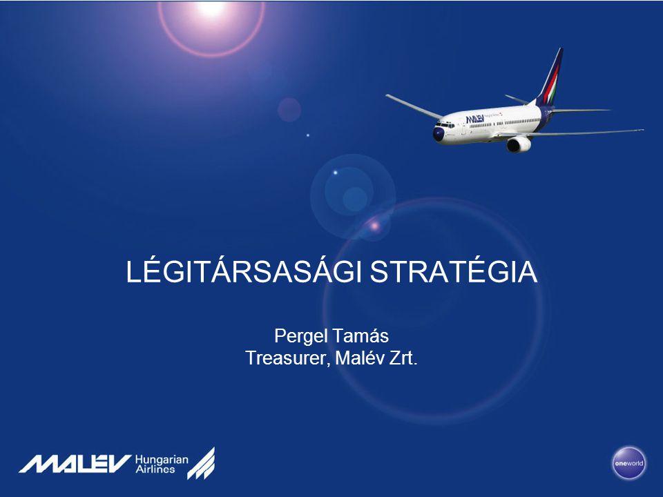 LÉGITÁRSASÁGI STRATÉGIA Pergel Tamás Treasurer, Malév Zrt.