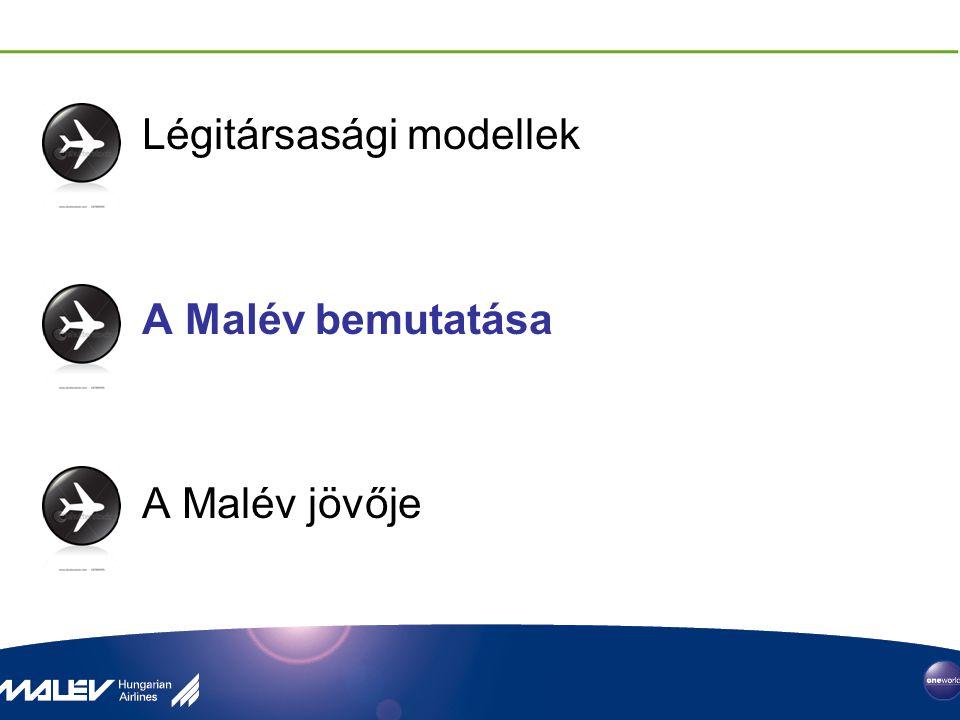 Légitársasági modellek A Malév bemutatása A Malév jövője