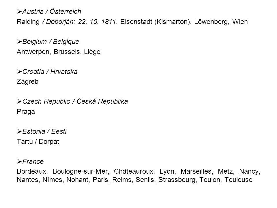  Austria / Österreich Raiding / Doborján: 22. 10.