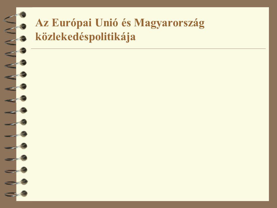 Az Európai Unió és Magyarország közlekedéspolitikája