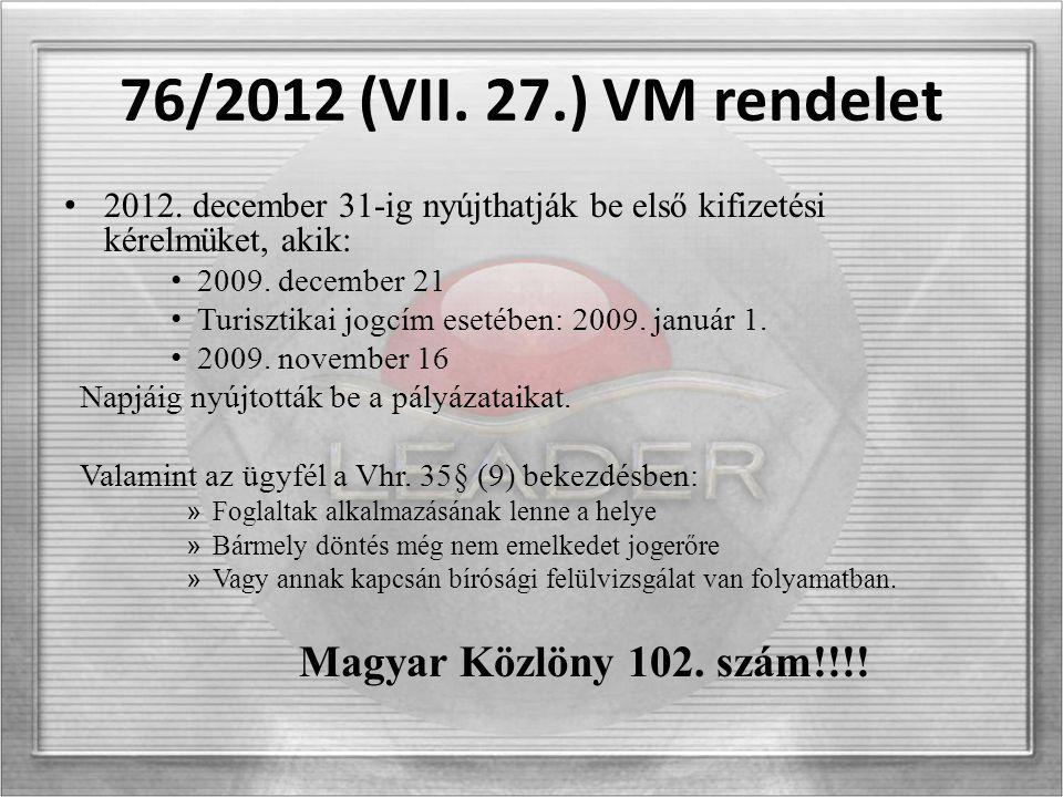 Kifizetési közlemények 95/2012 (VII.20) MVH Közlemény – Falumegújítás fejlesztés 96/2012 (VII.20) MVH Közlemény – Vidéki örökség megőrzése 98/2012 (VII.20) MVH közlemény – Mikrovállalkozások létrehozása, fejlesztése 97/2012 (VII.20) MVH Közlemény – Turisztikai tevékenységek ösztönzése 107/2012 (VII.20) MVH Közlemény - Leader
