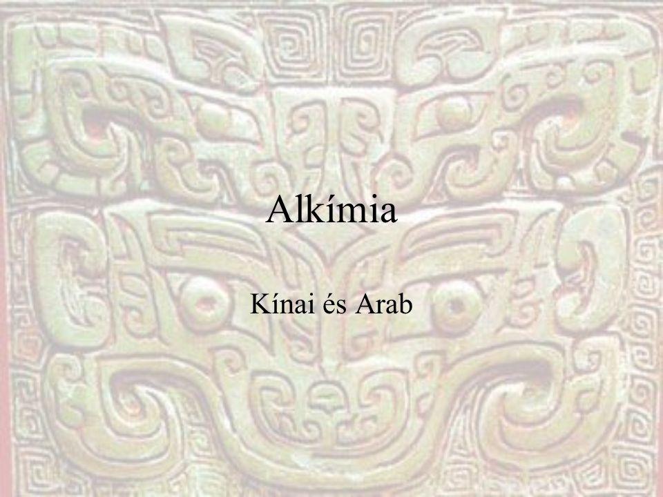 Mi is az alkímia.Al kímia, vagyis arabul kémia.