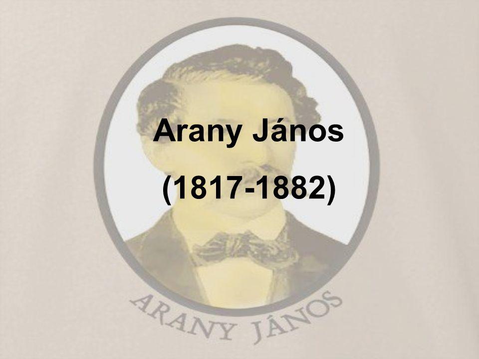 Arany János 1817 március 2-án született, Nagyszalontán.