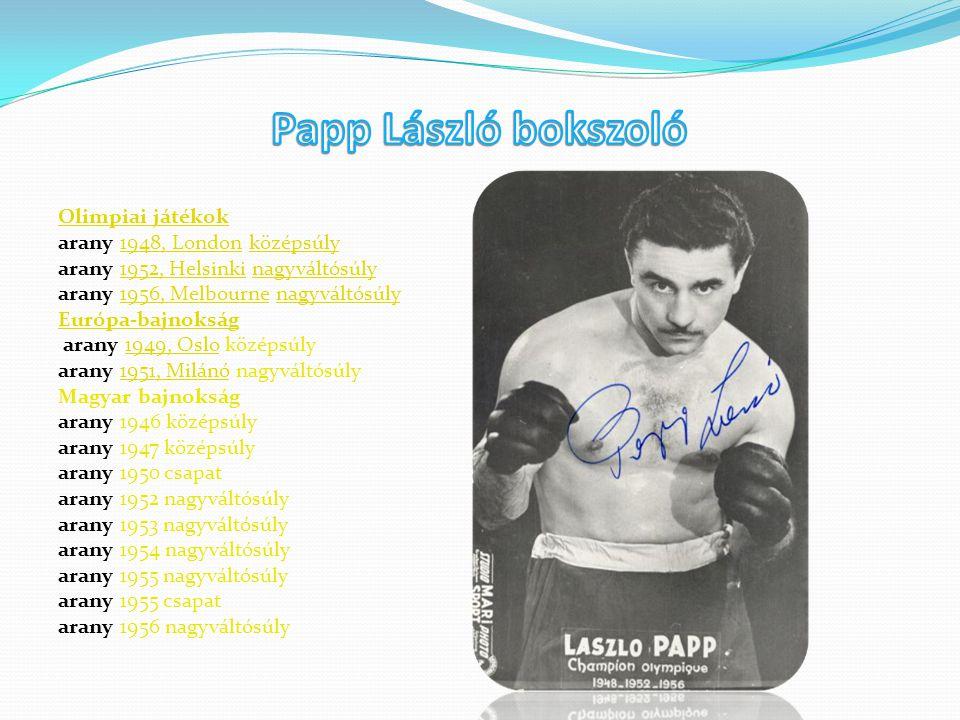 Olimpiai játékok arany 1948, London középsúly1948, Londonközépsúly arany 1952, Helsinki nagyváltósúly1952, Helsinkinagyváltósúly arany 1956, Melbourne