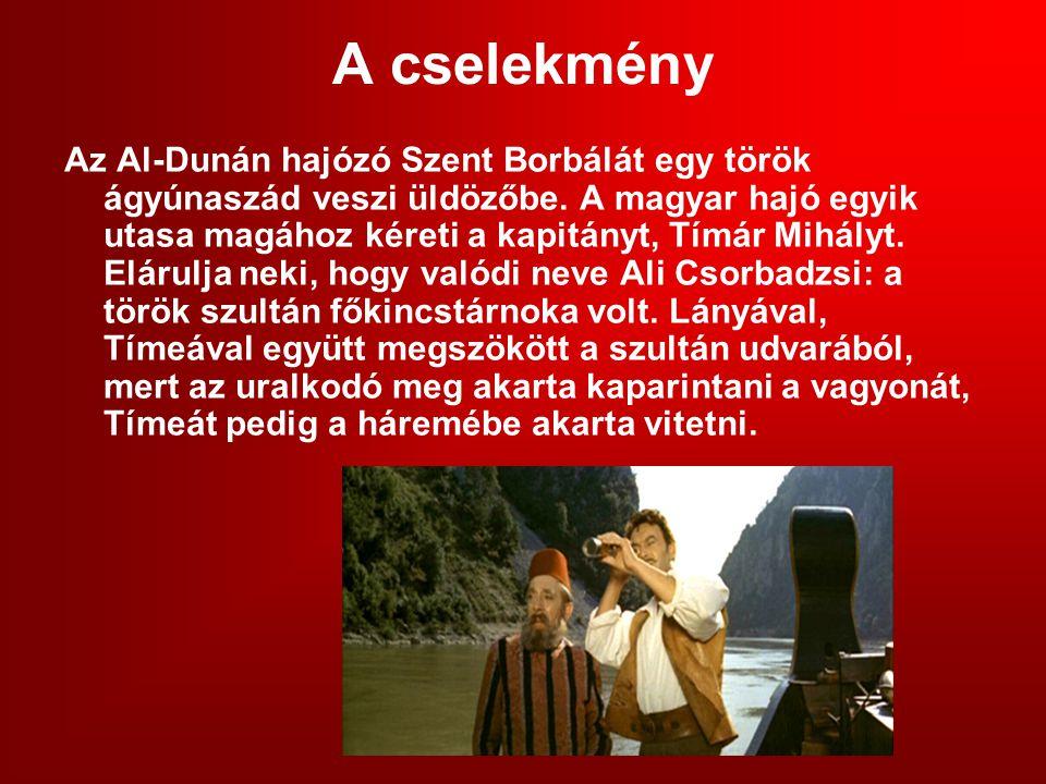 A cselekmény Az Al-Dunán hajózó Szent Borbálát egy török ágyúnaszád veszi üldözőbe.