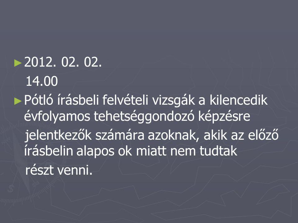 ► ► 2012. 02. 02.