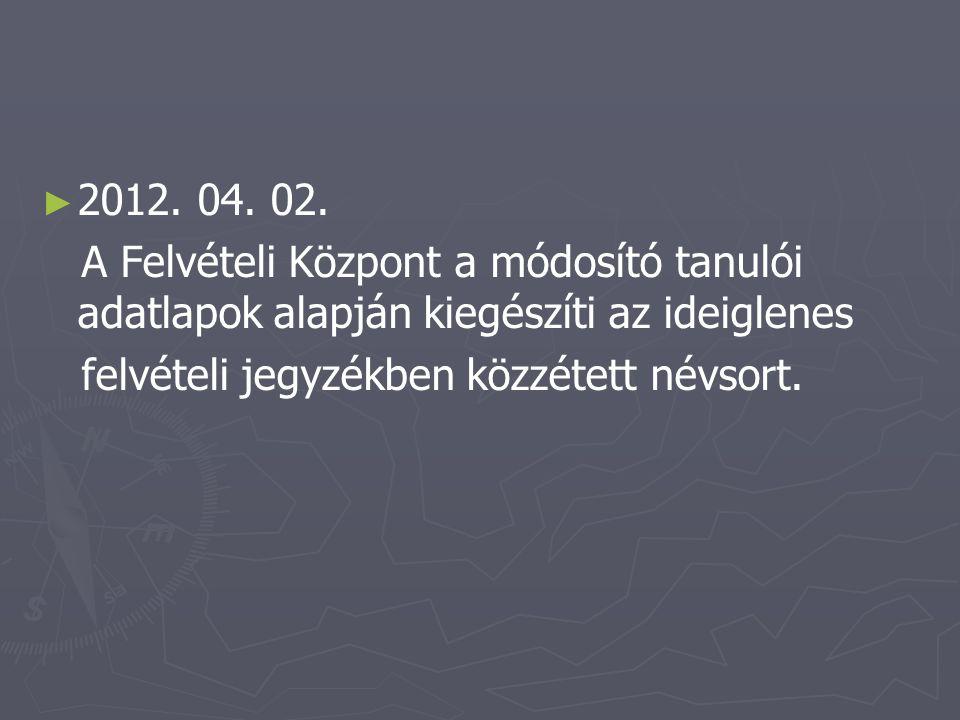 ► ► 2012. 04. 02.