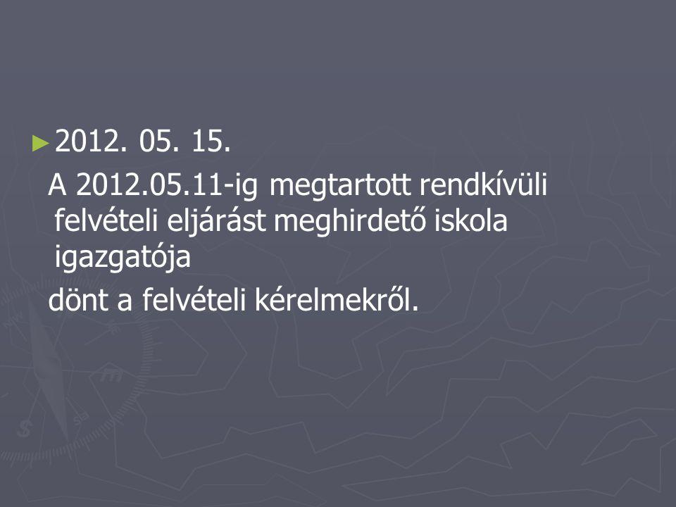 ► ► 2012. 05. 15.