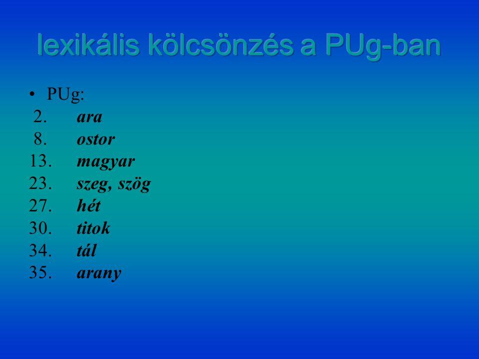 PUg: 2.ara 8.ostor 13.magyar 23.szeg, szög 27.hét 30.titok 34.tál 35.arany
