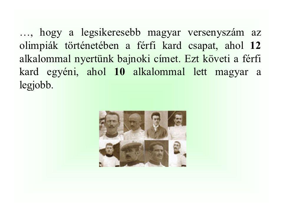 …, hogy Magyarország a Nemzetközi Olimpiai Bizottság alapítói között volt, hiszen a NOB 1894-es megalakulásakor …………………….révén magyar alapító tagja is