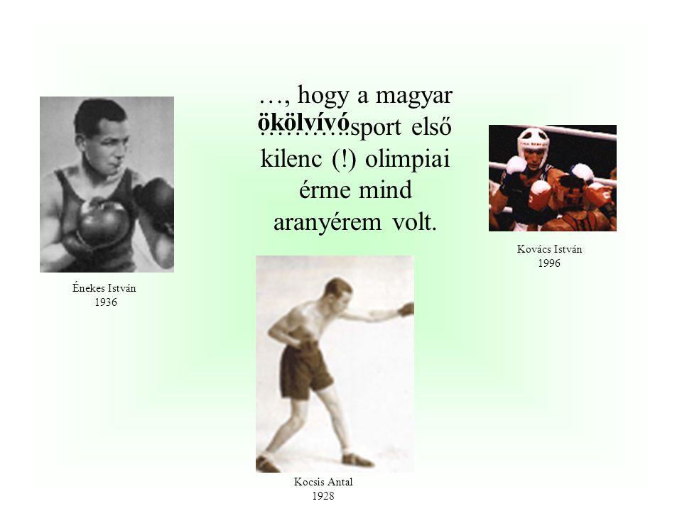 …, hogy a magyar sport két súlyemelő olimpiai bajnoki címét egy érdekes számadat köti össze. A mindössze 56 kg-os Földi ……….1972-ben, illetve a 90kg-o