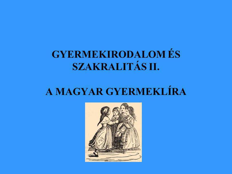 """ A németből való fordításirodalom ellen Benedek Elek parlamenti tiltakozása – 1888 Gyermekirodalmi kánonja tartópillérei: közösség, értékek, történetiség, intézmények Komplex értékrendszeren alapuló, a befogadóhoz igazodó eredeti irodalom """"…valamint a házat is alulról kezdik építeni, azonképpen a magyar irodalom olvasóközönségének nevelését is alul, a gyermekeknél kell kezdeni…"""