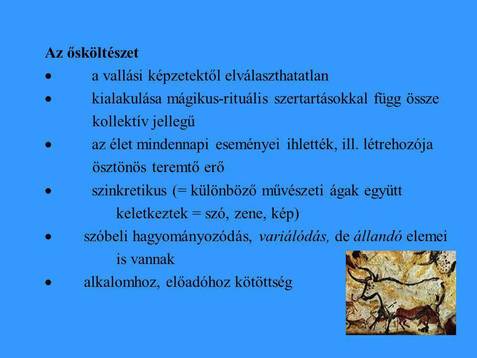 A Teremtő éneke Enyém az erdő minden vadja, Ezernyi hegynek, ezernyi völgynek Kicsinye-nagyja.