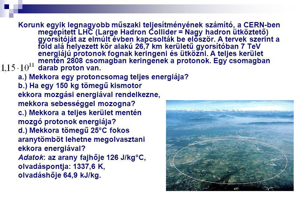 Korunk egyik legnagyobb műszaki teljesítményének számító, a CERN-ben megépített LHC (Large Hadron Collider = Nagy hadron ütköztető) gyorsítóját az elm