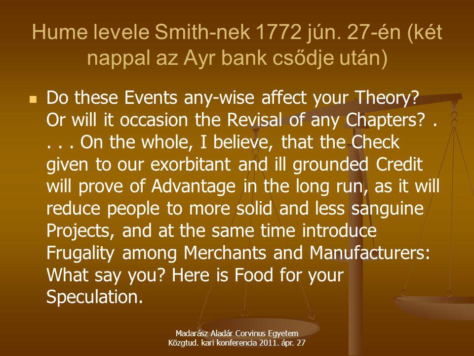 Hume levele Smith-nek 1772 jún.