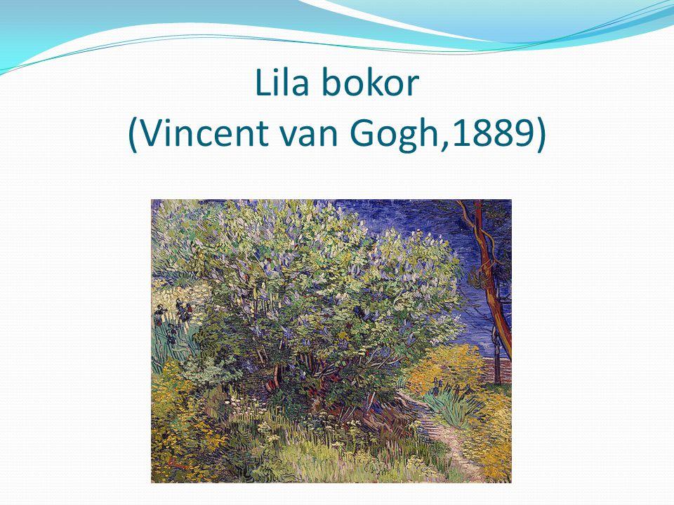 Lila bokor (Vincent van Gogh,1889)