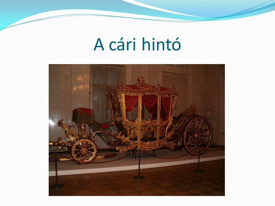 A cári hintó