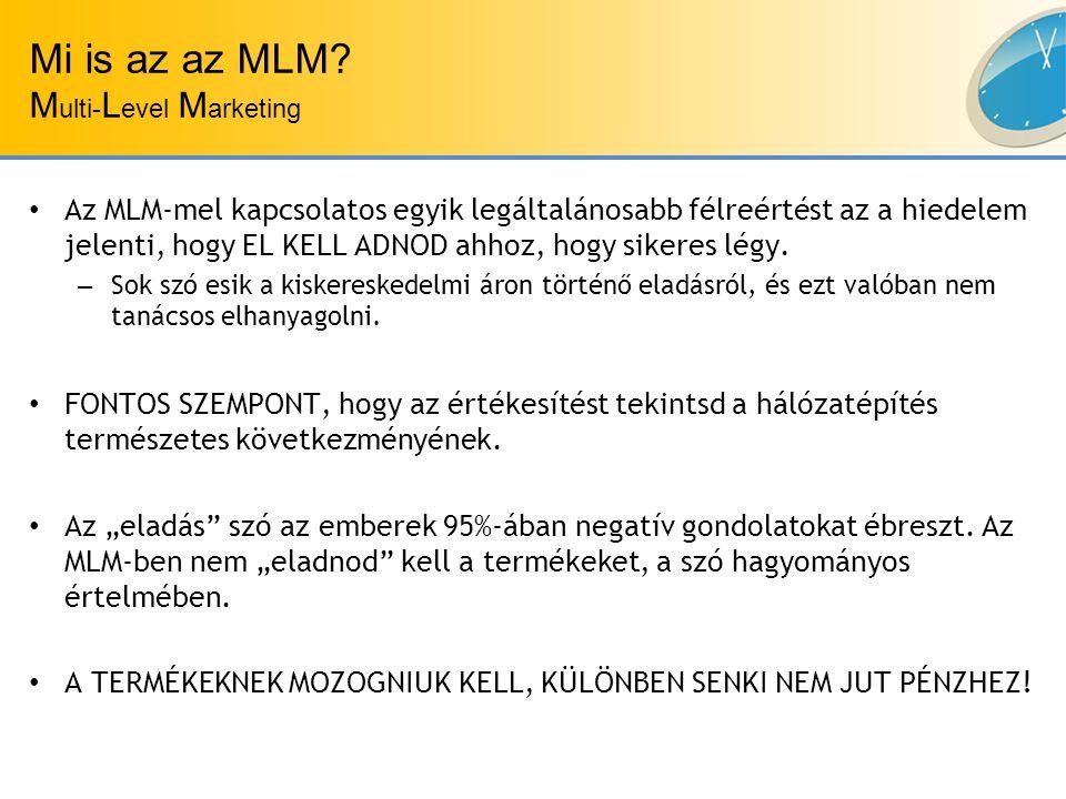 Mi is az az MLM.