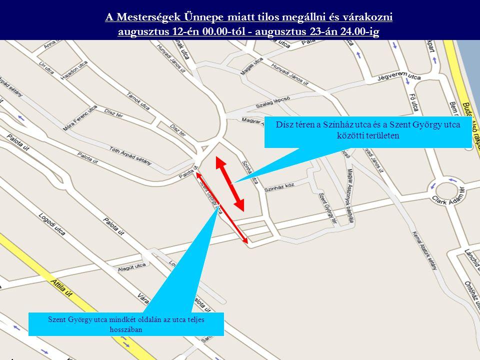 A Honvéd tisztavatás miatt lezárásra kerül augusztus 16-án 17.00-tól – augusztus 16-án 21 óráig a Hősök tere az Állatkerti körút az Állatkerti út és a Hősök tere között a Kós Károly sétány az Olof Palme sétány a Hősök tere és a Dvorák sétány között