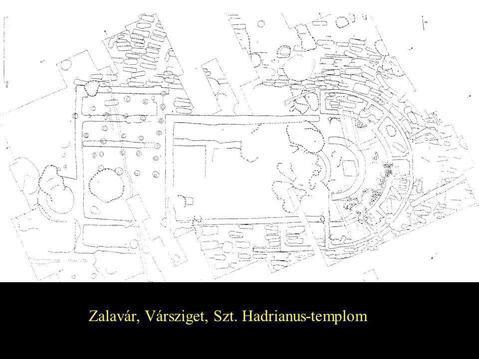 Zalavár, Vársziget, Szt. Hadrianus-templom